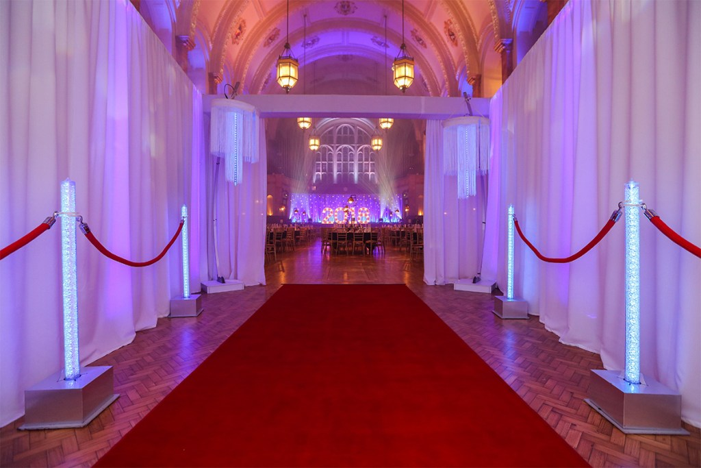 Entrance to the Gala Dinner in the Great Hall