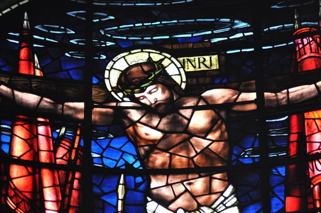 Burne Jones stained glass