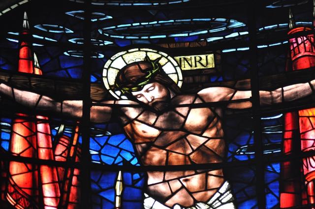 Burne Jones stained glass
