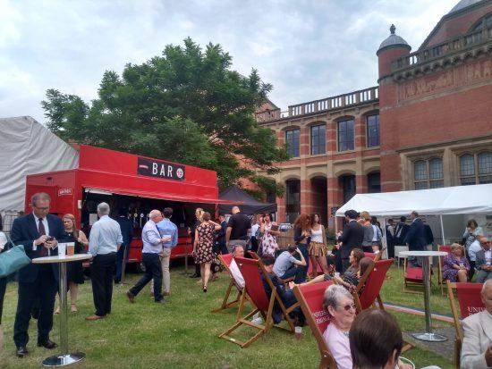 Relaxing after Graduation 2019 University of Birmingham