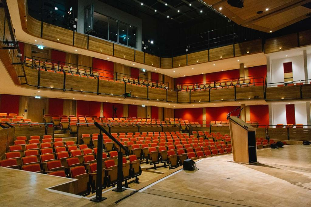 The Elgar Concert Hall from the stage