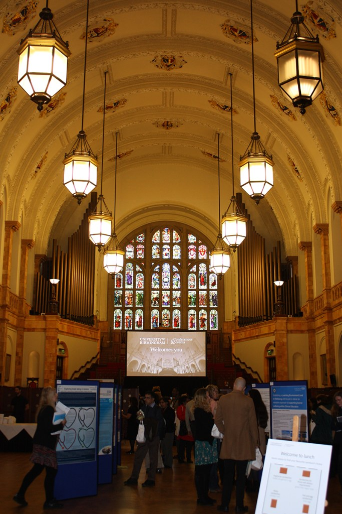 Exhibition space, workshops, networking and lunch all in one at the Great Hall