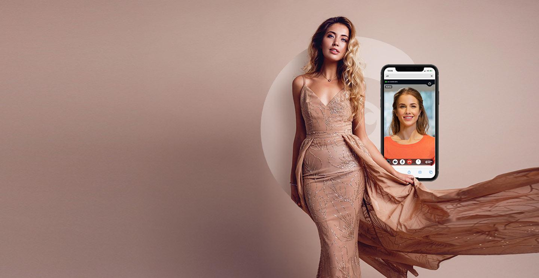 Live video shopping fashion