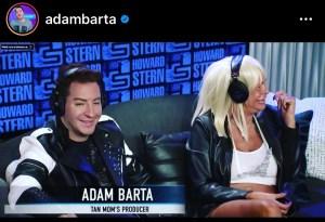 Adam Barta and Tan Mom at Howard Stern