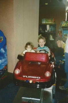 I've been driving her crazy ever since. lolz