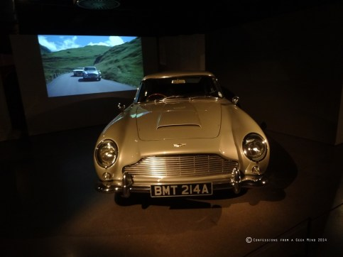 Bond in Motion - Aston Martin - Goldfinger