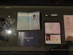Bond in Motion - Bond's Passports