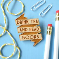 Drink Tea and Read Books Badge