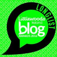 Blog Awards Ireland - I've Made The Longlist!