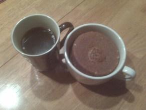 Chocolate Coffee Mug Cake After