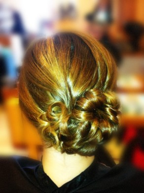 Special Occasion Hair Style - Wedding Prom Updo