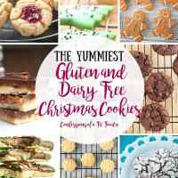 The Yummiest Gluten and Dairy Free Christmas Cookies