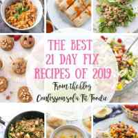 The Best 21 Day Fix Recipes of 2019