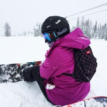 Snowboarding = Bruises