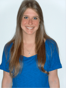 Caroline Roth marketing intern for our book on resumes for teachers