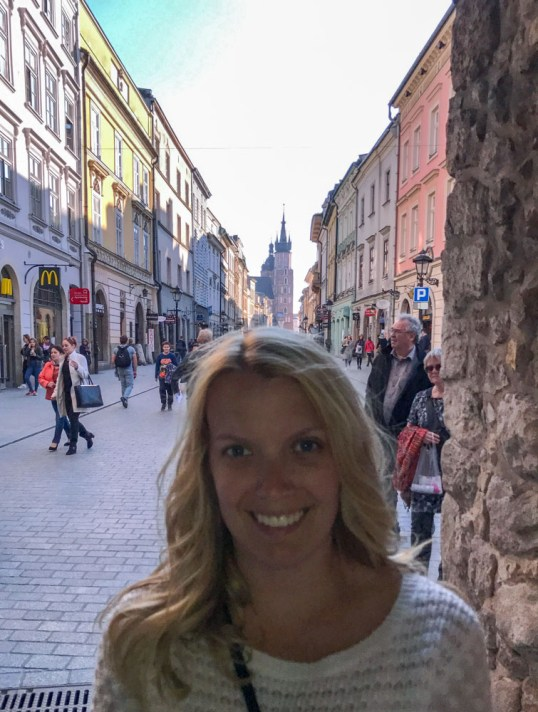 Exploring Old Town, Krakow