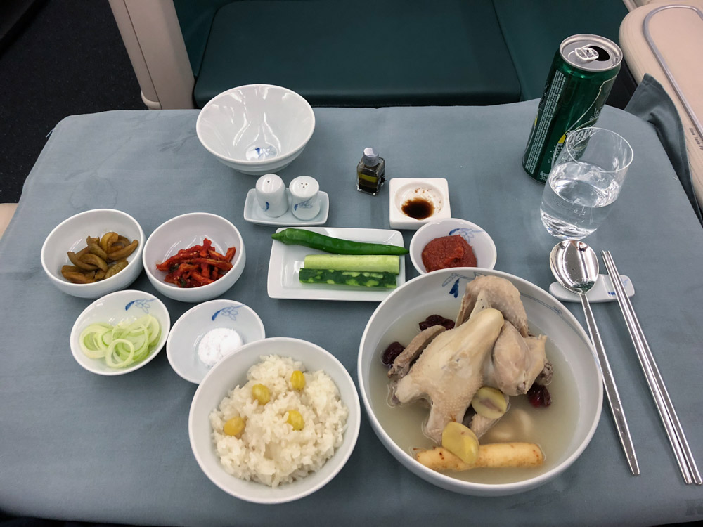 Korean Air First Class Confessions of a Travaholic
