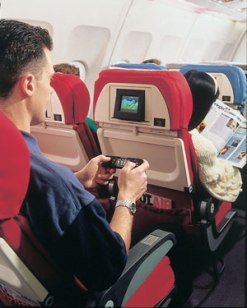 The airline was also the first in the world to offer personal inflight entertainment for all passengers in all classes with seat back televisions.