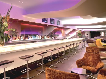 Virgin has always strived to bring back the 'jet-set' era, both in the air and on the ground. This was further enhanced when the airline opened its 'Virgin Clubhouse at Heathrow' in March 2006. Amongst the many unique features of the flagship lounge are a cocktail bar, a hair salon, a Cowshed spa, a brasserie and a games room.