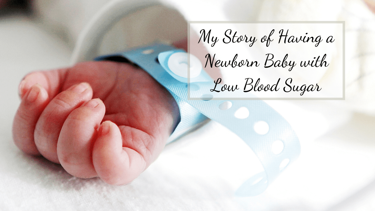 After the birth of our son, TJ, we found out that we had a Newborn Baby with Low Blood Sugar issues. This meant more tests and more time at the hospital.