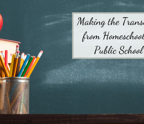 Making the transition from homeschool to public school may seem impossible, but we have some tips to help you make the shift easy!