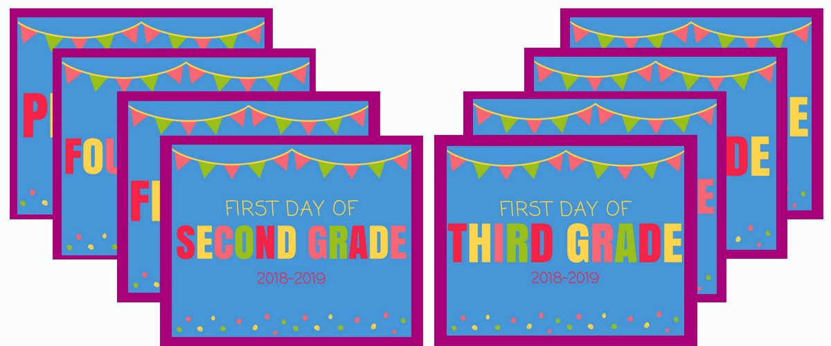 First Day of School Printables-6