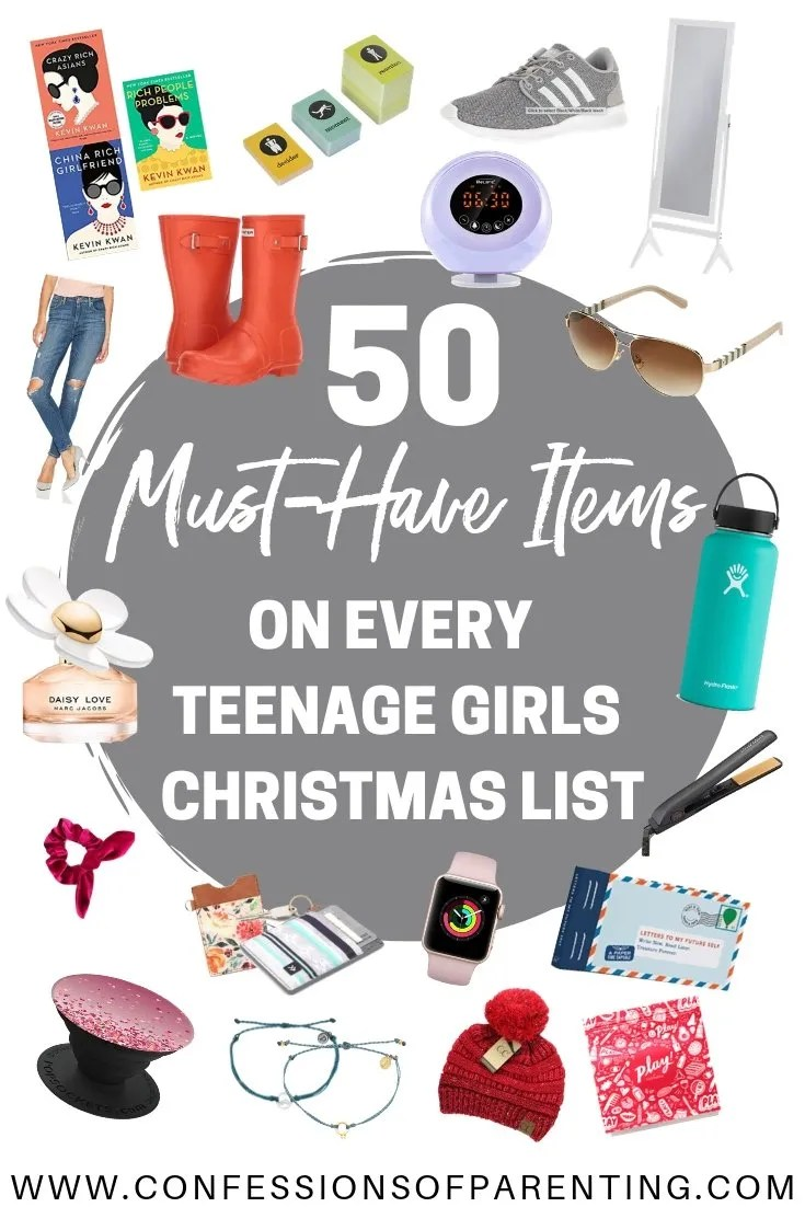Shopping for teenage girls can be overwhelming when they seem to have everything they could possibly need and styles change so quickly.  We have the ultimate list of teenage girl gift ideas for you!