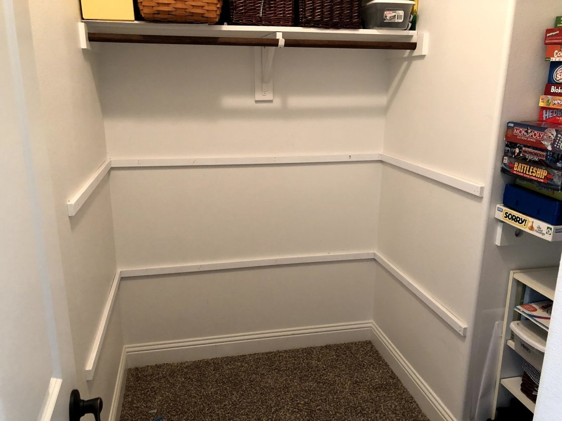 Sometimes there are places in your home that just need more shelves like our toy closet did! Here is hot to install shelves in your closet to make it more functional!