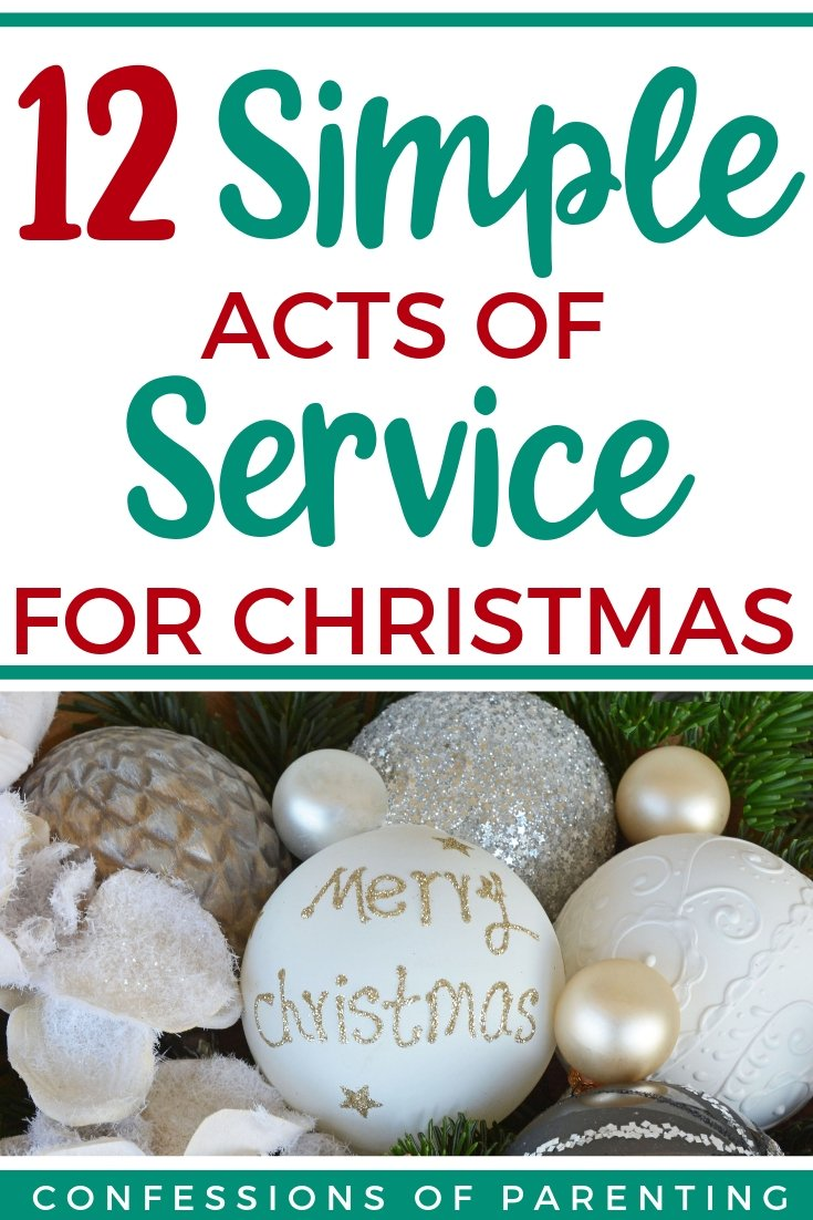 12 simple acts of service for christmas