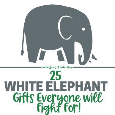 'Tis the season for white elephant gift exchange parties. Here's a list of 25 laugh-worthy white elephant gift ideas that everyone will be fighting for.