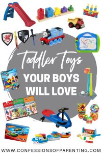 Shopping for a little toddler boy doesn't have to be overwhelming! We have the top gifts for toddler boys that are sure to be a hit!
