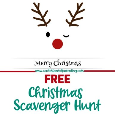 Bring your family closer together this Christmas with this fun-filled Christmas scavenger hunt! Kids old and young will enjoy this activity!