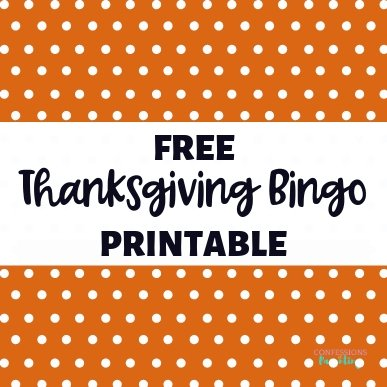 Are you looking for the perfect Thanksgiving game to play with your family? This free Thanksgiving Bingo game is fun and even the younger kids can participate!