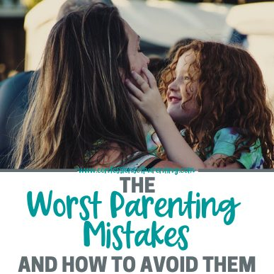 At times we struggle as parents and make mistakes. Here are 5 of the biggest parenting mistakes to avoid and if you make them how to overcome them!