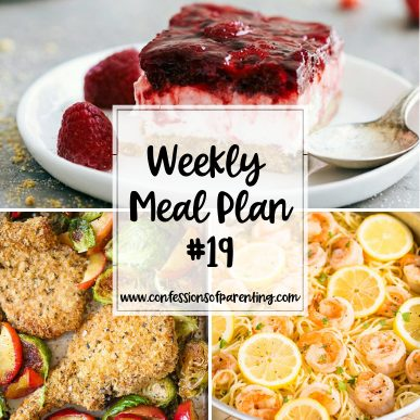 Being a mom is one of the hardest jobs out there and planning dinner adds to that. Use our weekly meal plan for hard-working moms to simplify your life!