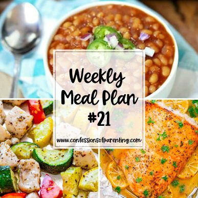 Are you in a dinner time slump? Try out our weekly meal plan for industrious moms to help you out. Your family will literally be begging for more!