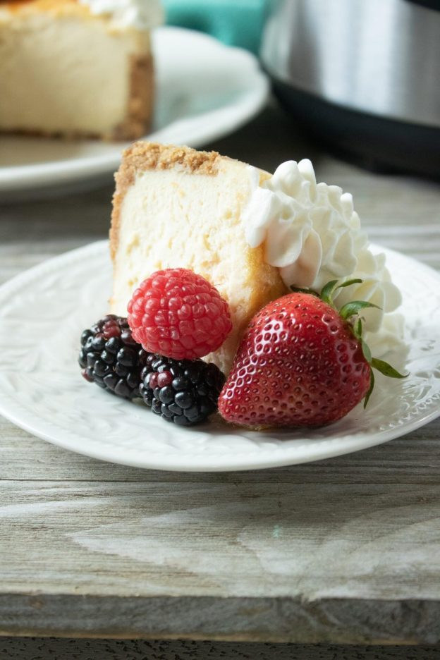 If you haven't tried Instant Pot Creme Brulee Cheesecake you are missing out on the tastiest treat! Check out just how easy it is to make this amazing dessert!