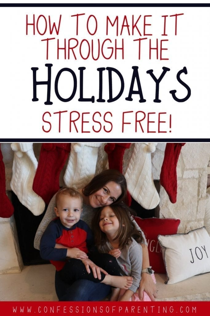 The holidays can be one of the most stressful times of the year, with all the hustle and bustle and running around, but with these 5 tips, you can have a stress free holiday and still be smiling by the time it's Christmas day!