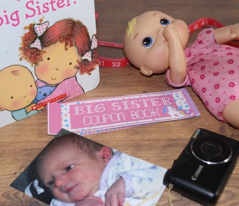 Becoming a big sister is kind of a big deal, don't get caught empty-handed! Arm the new big sister with everything she needs with this big sister survival kit so she can enjoy the new addition as much as everyone else!