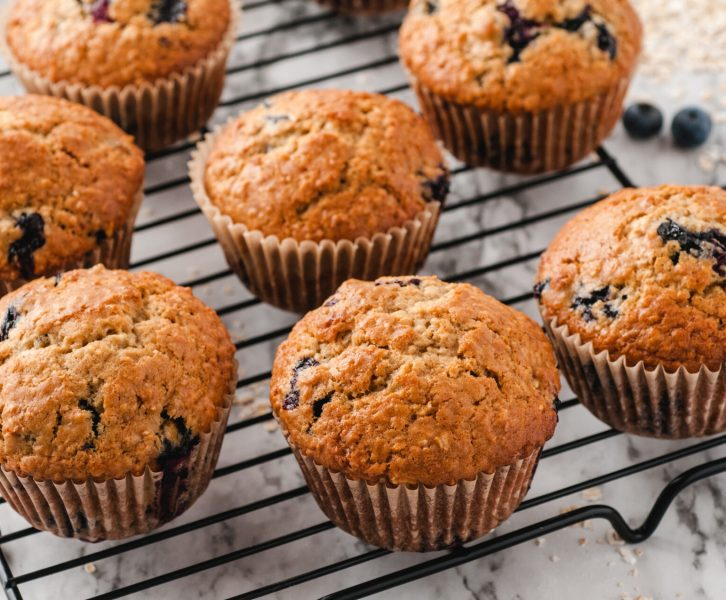 These are the absolute best blueberry oat muffins. Your family is going to love these and will be begging you to make them!