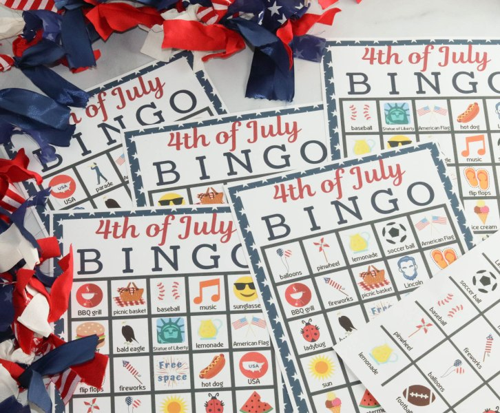Celebrate the founding of America with this fun and free 4th of July bingo printable! This free printable is the best way to have fun as a family and teach your family about some of the unique and fun things that come with the 4th of July!