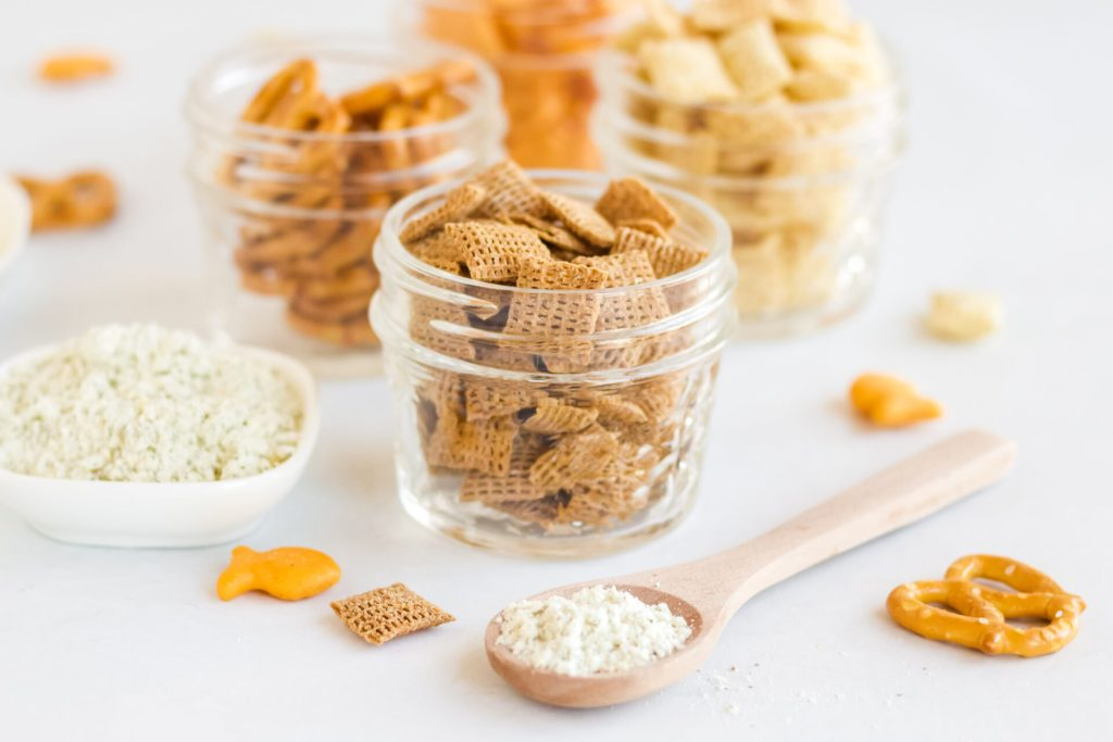 ingredients for air fryer snack mix