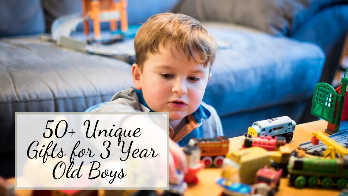 Gifts for 3 Year Old Boys