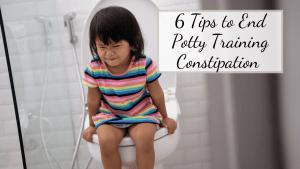 potty training constipation