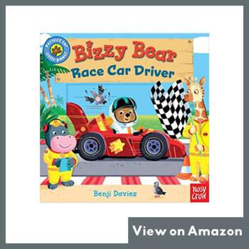 Bizzy Bear: Race Car Driver