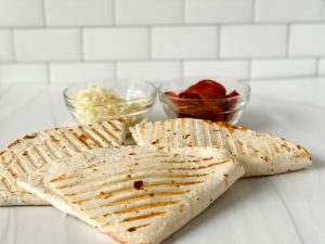 picture of pizza tortilla wraps