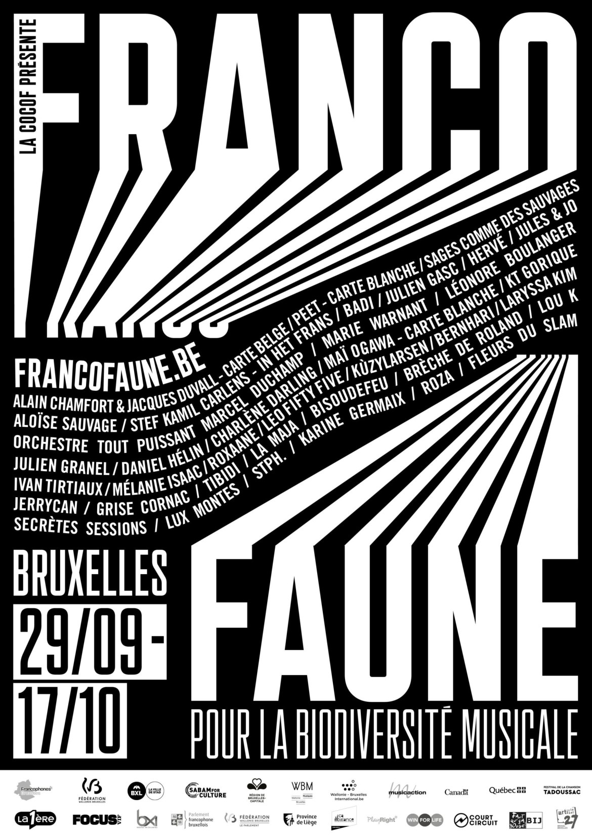 Festival FRANCOFAUNE