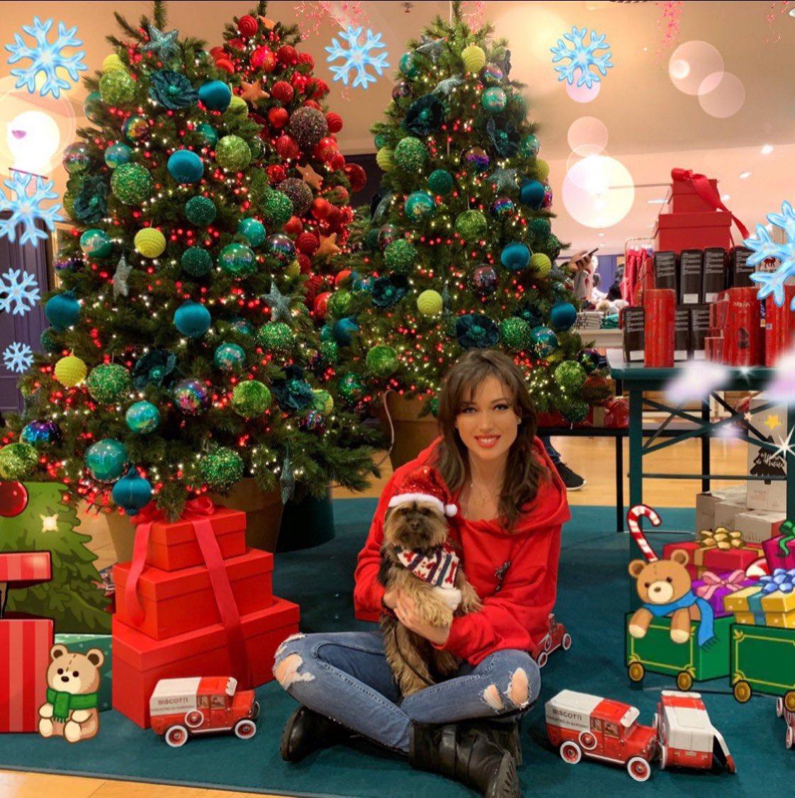 C'était la fille du Père Noël ! :