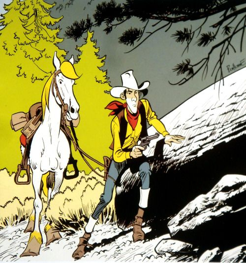Lucky Luke, the most wanted ! :