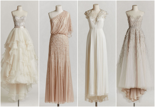 10 Exquisitely Decadent Vintage-Style Wedding Dresses